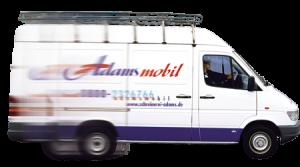 Adamsmobil - der Reparaturservice kommt